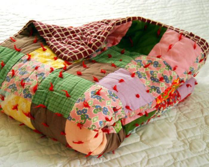 couverture-patchwork-plaid-patchwork-couverture-de-lit-chaude