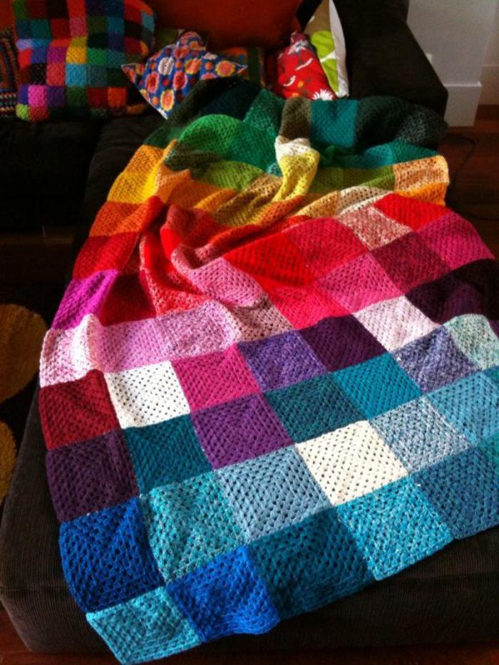 couverture-patchwork-plaid-patchwork-tricot