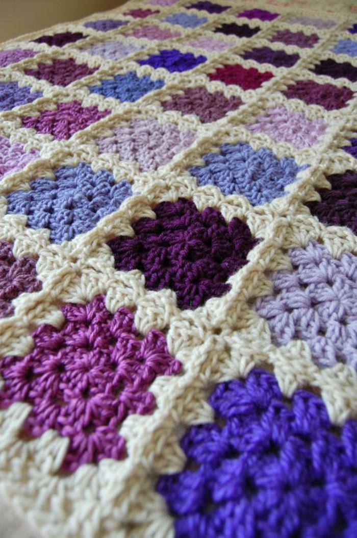 couverture-patchwork-plaid-tricot-en-patchwork