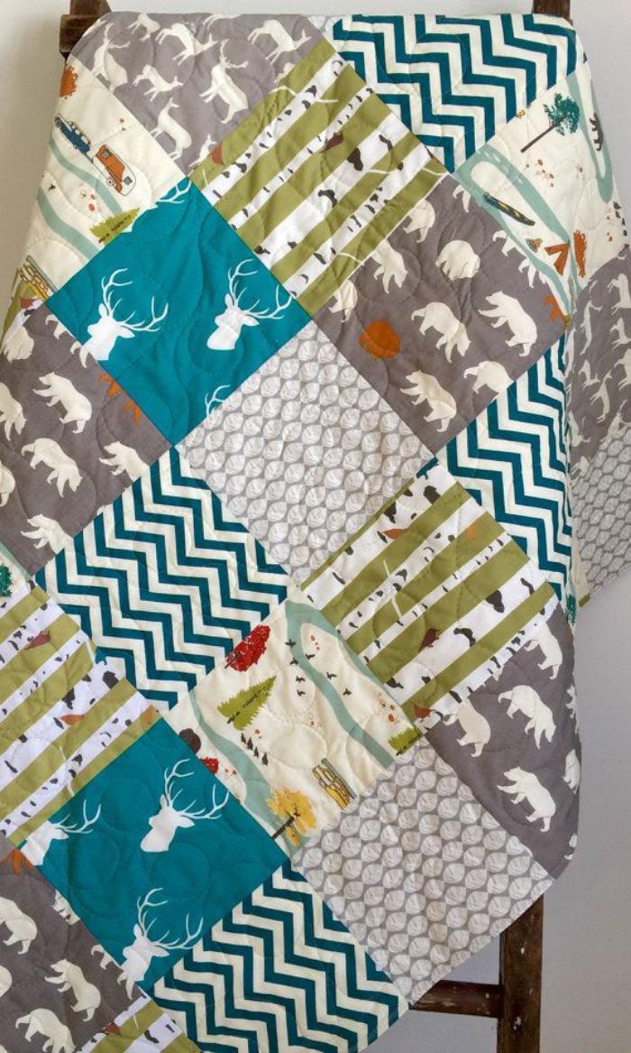 couverture-patchwork-textile-couleurs-fraiches