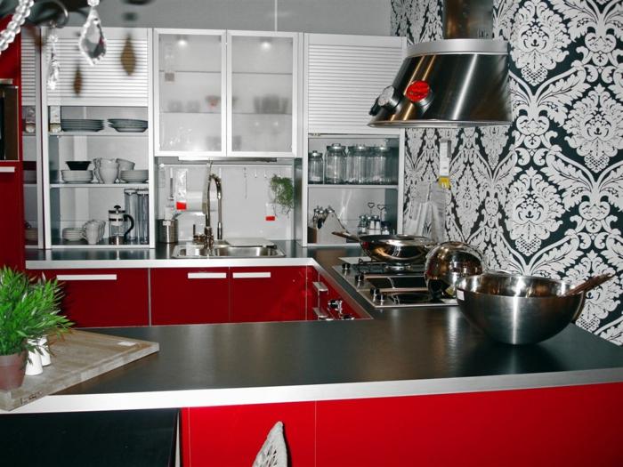 cuisine-avec-papier-peint-blanc-et-noir-leroy-merlin-louvroi-papiers-peints-leroy-merlin-cuisine-rouge