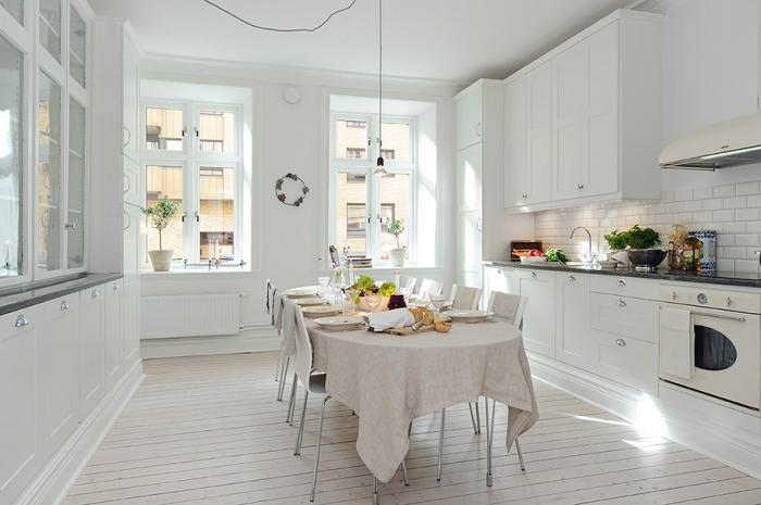cuisine-scandinave-intérieur-nordique-en-blanc