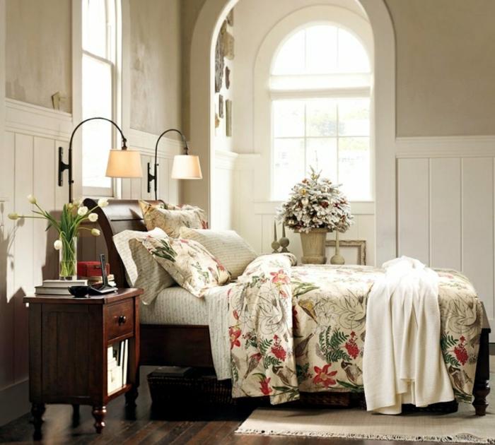 déco-fleurie-Belle-maison-rustique-décorée-pour-créer-de-l-ambiance-cozy