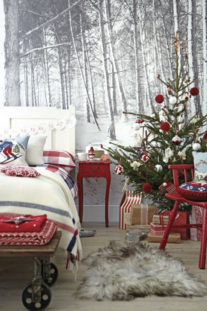 40 id es pour r aliser les meilleurs d corations de noel. Black Bedroom Furniture Sets. Home Design Ideas