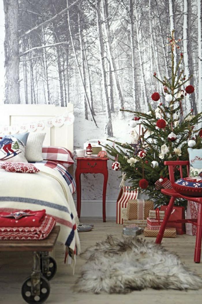 décoration-noël-deco-de-noel-décorations-de-noel-chambre-à-coucher