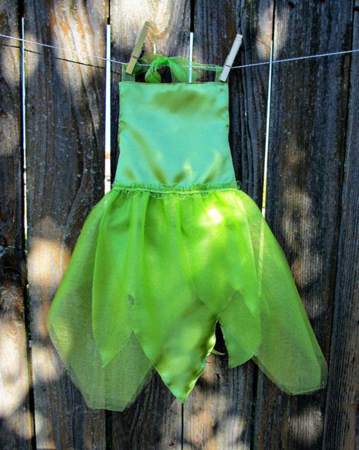 déguisement-fée-clochette-de-deux-parties-costumes-festives-d'enfants