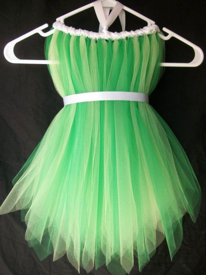 déguisement-fée-clochette-robe-plissée-verte