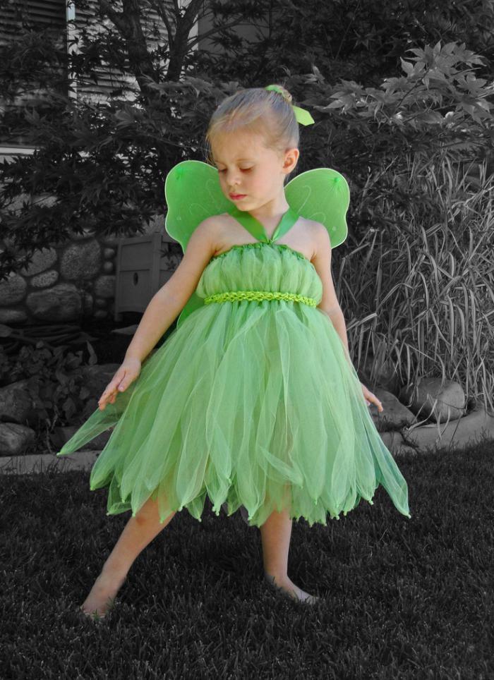 déguisement-fée-clochette-robe-voile-verte