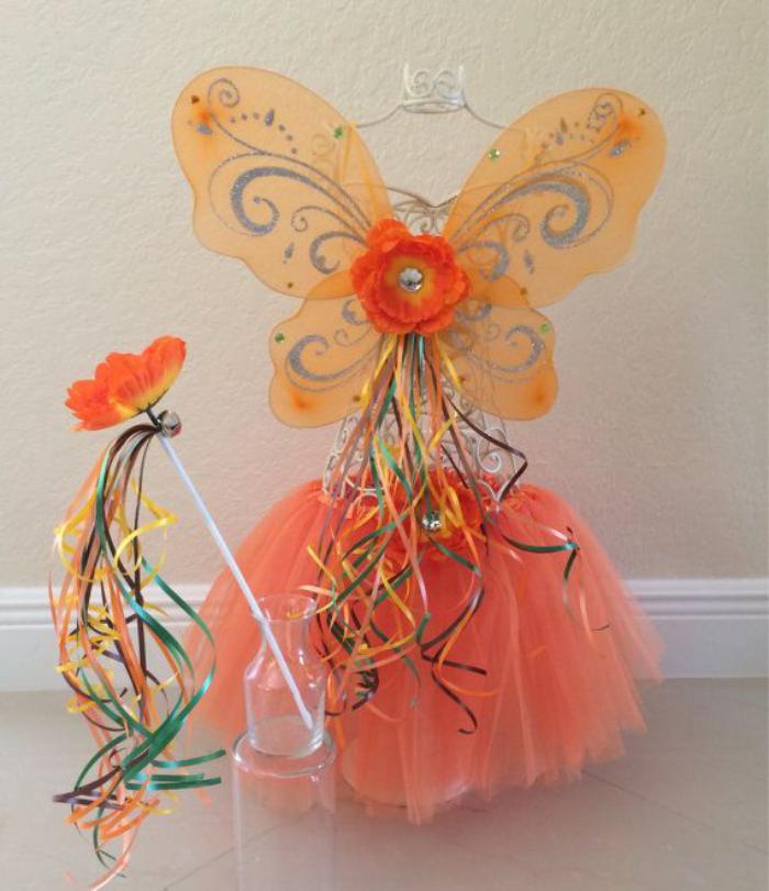 déguisement-fée-clochette-rose-avec-baguette-magique