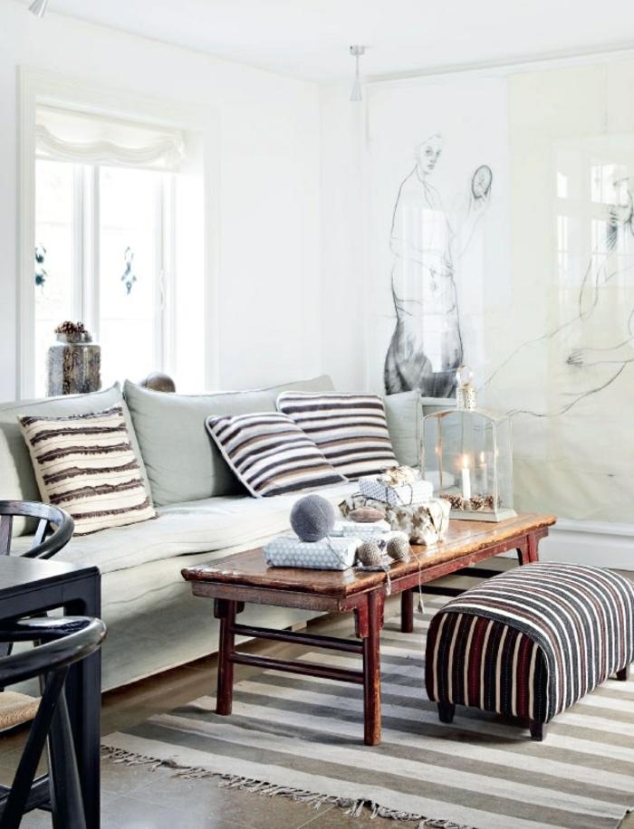 la d co de no l faire soi m me 40 belles id es. Black Bedroom Furniture Sets. Home Design Ideas