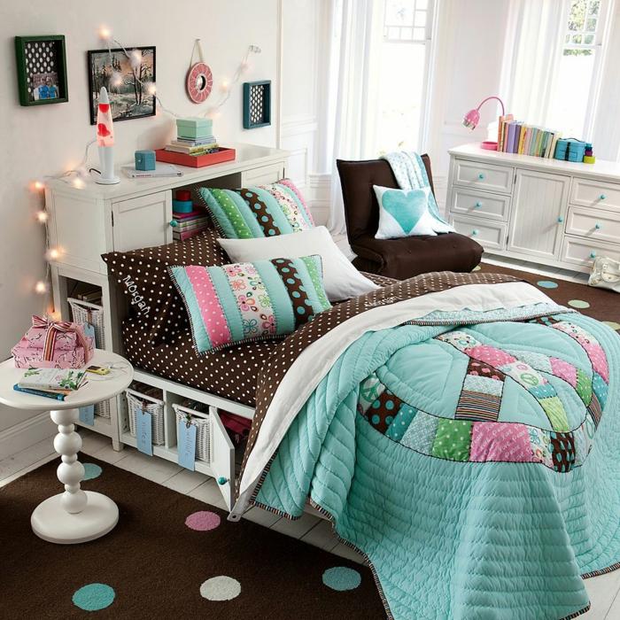 design-chambre-à-coucher-ado-idée-déco-chambre-belle