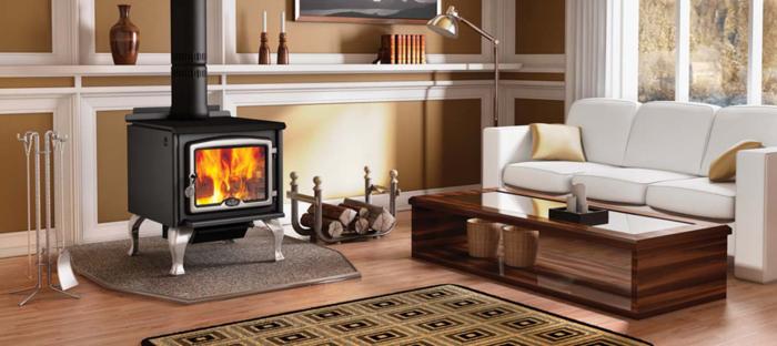 design-d-intérieur-avec-le-poêle-à-bois-intérieur-contemporaine
