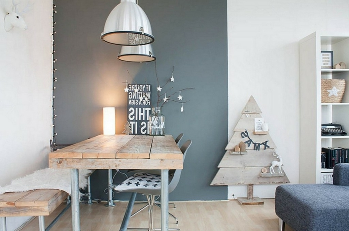 design-de-la-déco-noël-à-fabriquer-maison-cool-idée