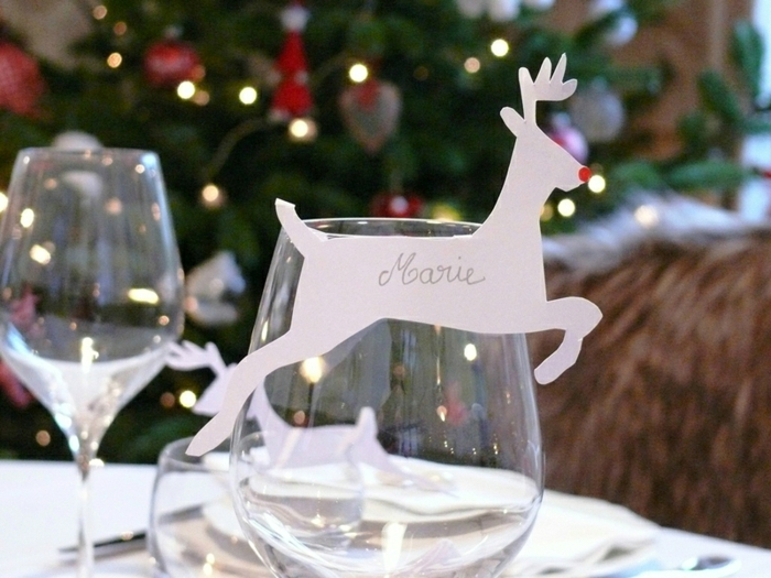 La d co de no l faire soi m me 40 belles id es - Idee deco table de noel a faire soi meme ...