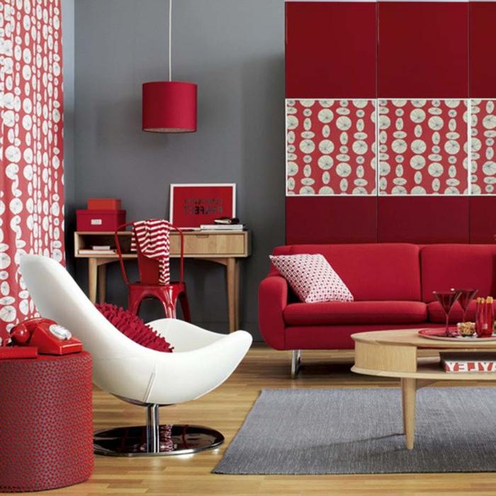 Chambre A Coucher Peinture Rouge – Chaios.com