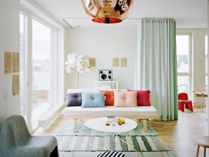 design-tapis-pour-salon-moderne-intérieur-contémporaine-blanc-et-vert