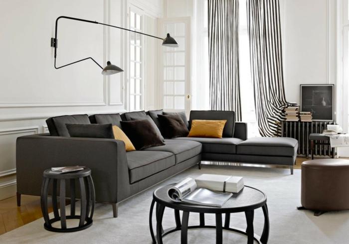 diy-faire-l-aménagement-de-la-salle-de-séjour-lampedaire-coo-noir-et-blanc-lux