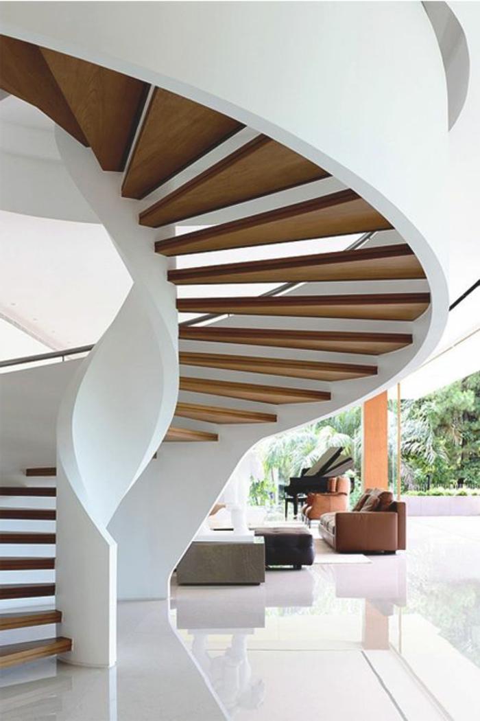 escalier-tournant-blanc-avec-planchers-dans-l-interieur-moderne-d-esprit-blanc-sol-en-carrelage-blanc