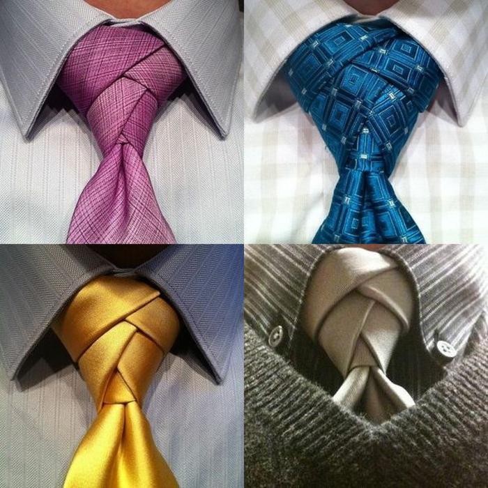comment faire un noeud de cravate quelques id es styl es. Black Bedroom Furniture Sets. Home Design Ideas
