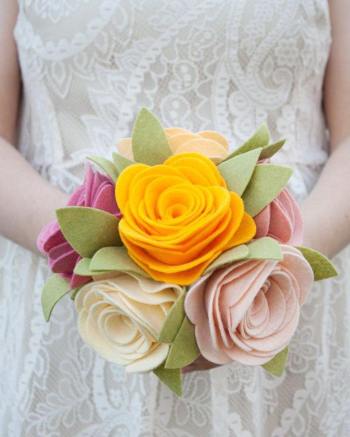 fleurs-en-feutrine-bouquets-de-mariées-en-feutrine