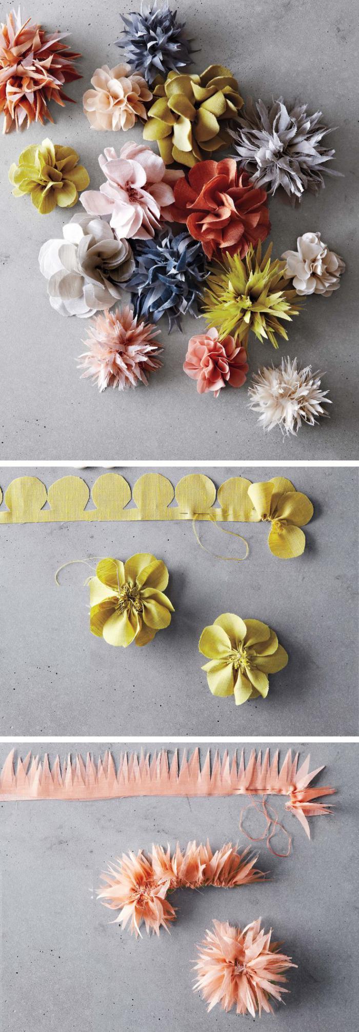 Essayez les fleurs en feutrine une jolie d coration pour plusieurs cas - Comment faire une couronne de fleurs ...