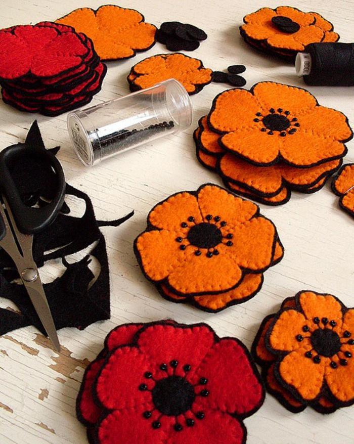 fleurs-en-feutrine-idées-déco-diy-originales