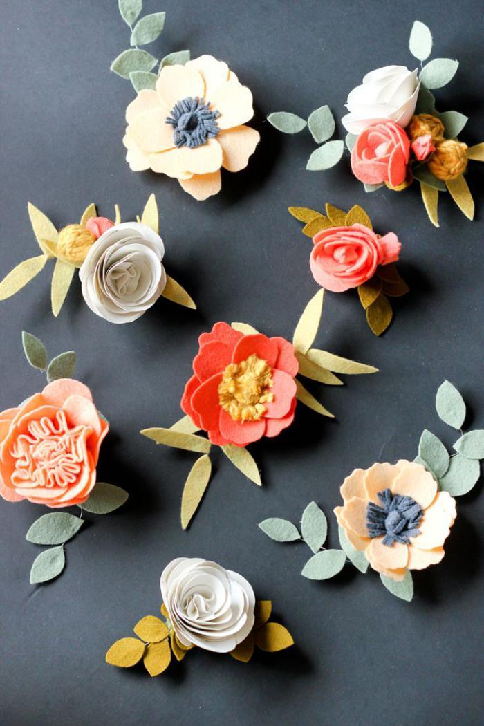 fleurs-en-feutrine-multitude-de-fleurs-en-textile