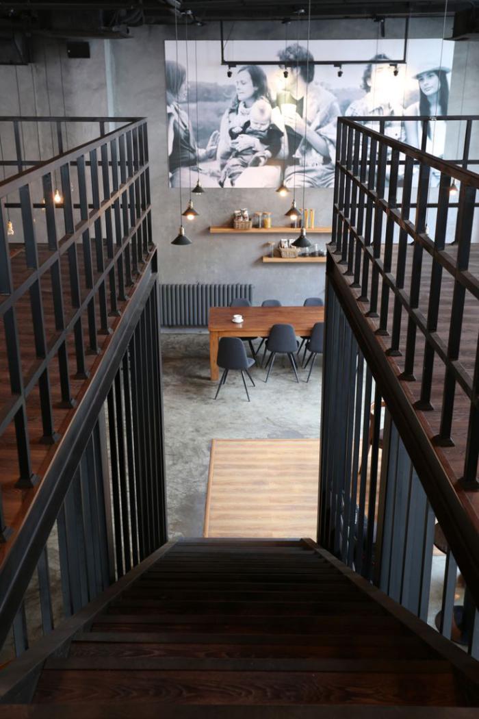 Le garde corps mezzanine jolies id es pour lofts avec mezzanine - Interieur loft industriel ...