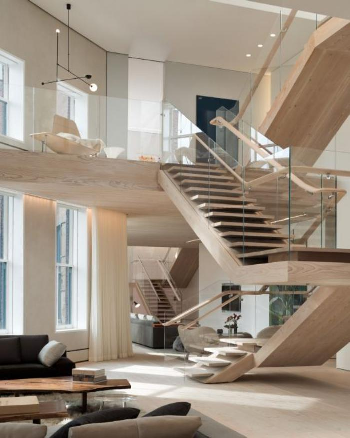 garde-corps-mezzanine-rambrade-d'escalier-élégant