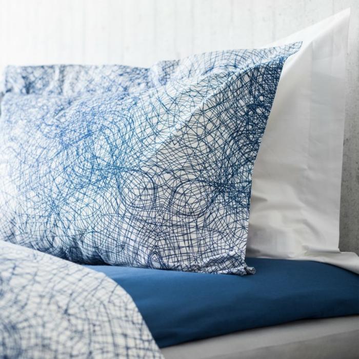 housse-de-couette-bicolore-chamber-à-coucher-bleu