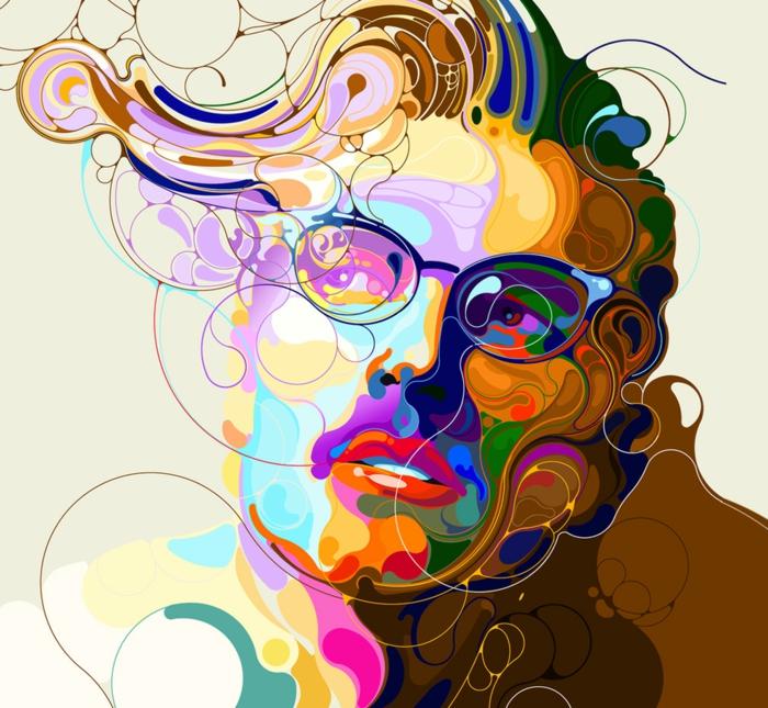 Les arts graphiques tonnez vous du talent de ces for Peinture graphique