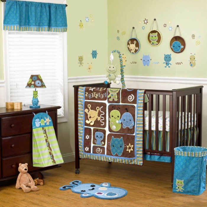 Le linge de lit b b 44 id es qui vont vous inspirer - Chambre de bebe dans une alcave ...