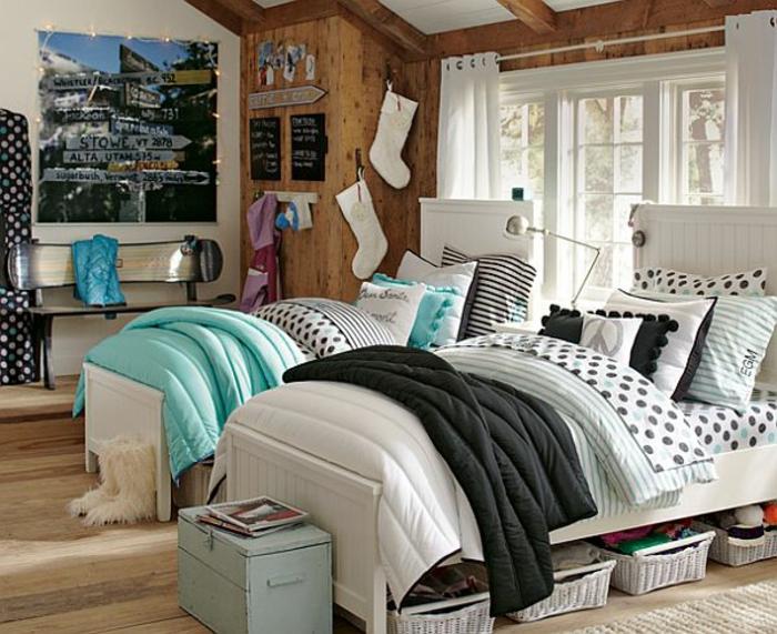 quelle est la meilleur id e d co chambre ado. Black Bedroom Furniture Sets. Home Design Ideas