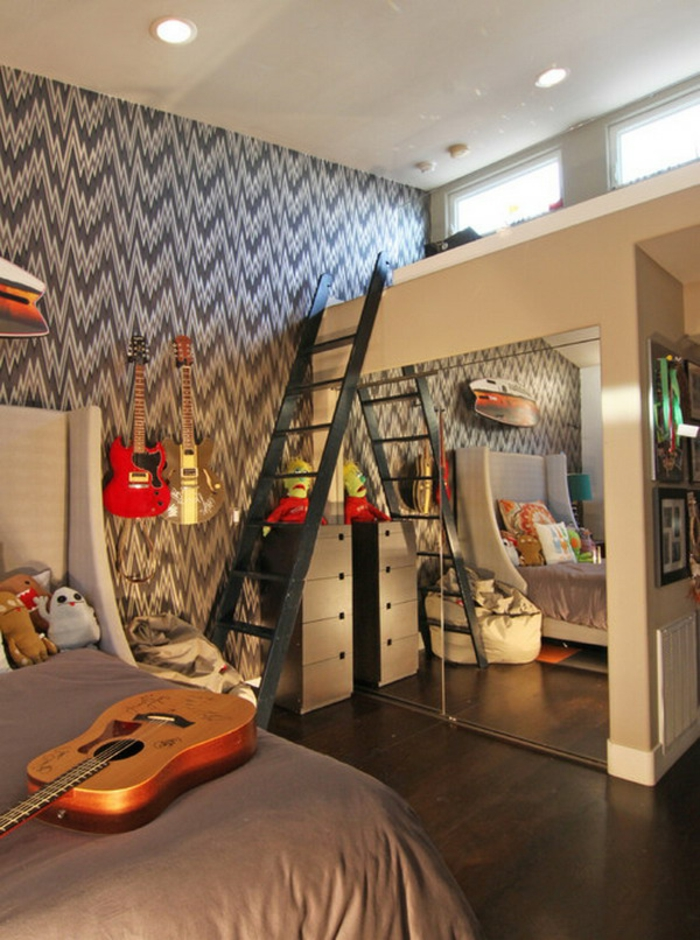 idée-chambre-déco-ado-belle-design-intérieur-lit