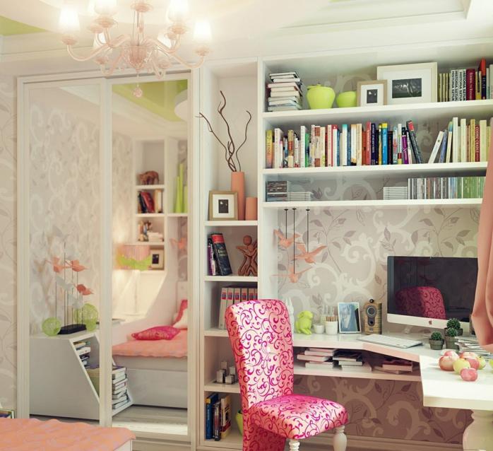 idée-chambre-déco-ado-belle-design-intérieur-rose