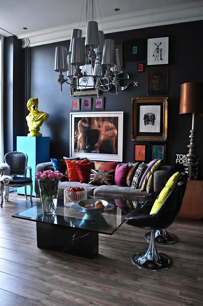 idée-déco-salon-peinture-decoration-salon-salle-de-séjour-lustre