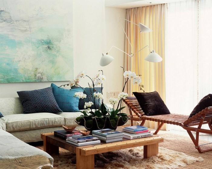 idée-déco-salon-peinture-decoration-salon-salle-de-séjour-moderne