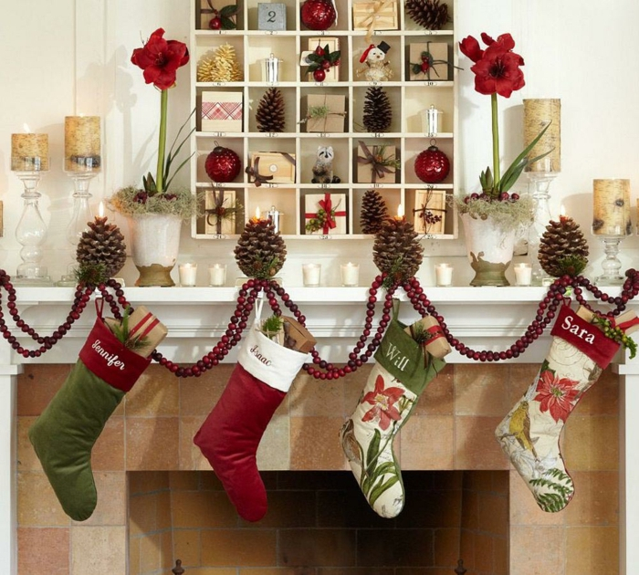 Id Ef Bf Bde Decoration De Noel Interieur Et Simple