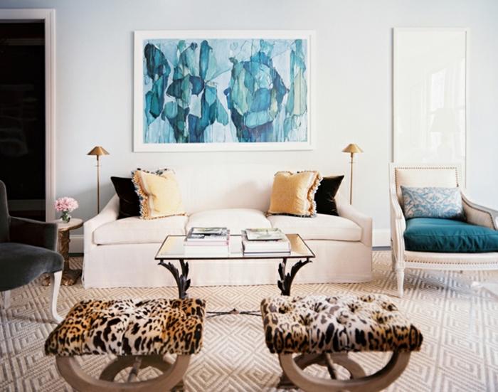 idée-peinture-salon-idee-deco-salon-à-décorer-bien-bleu-abstrait