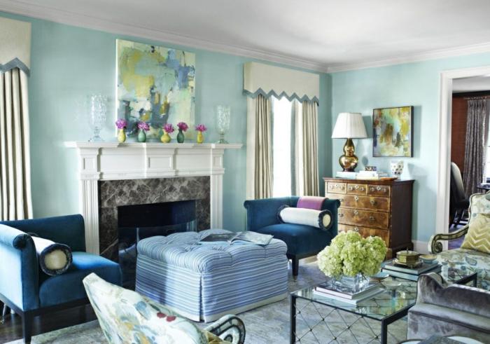 idée-peinture-salon-idee-deco-salon-à-décorer-bien-couleurs-claires