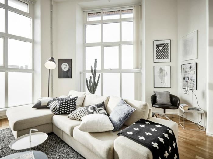idée-quel-tapis-moderne-pour-salon-choisir-intérieur-canapé