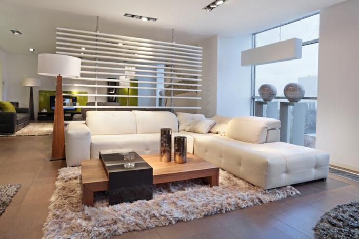 Les tapis de salon moderne idées aménagement salon