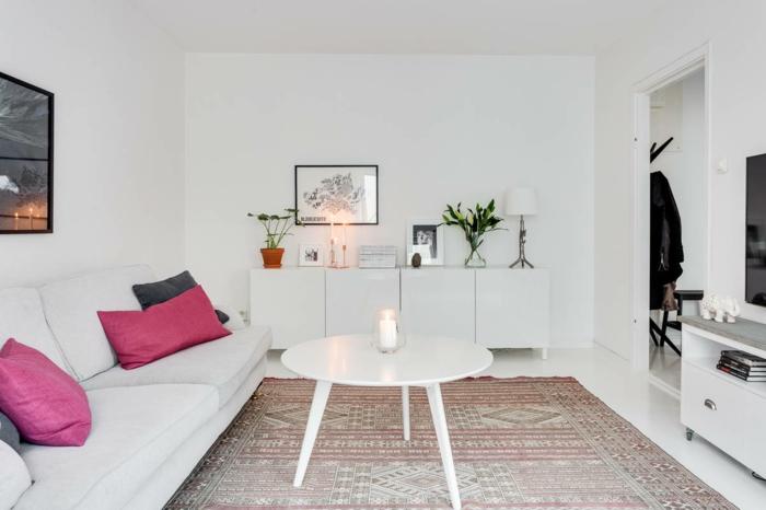 idée-tapis-chambre-fille-coloré-décoration-aménagement-salon