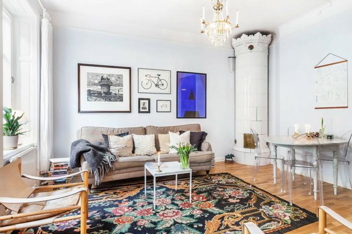 idée-tapis-chambre-fille-coloré-décoration-idées-à-faire