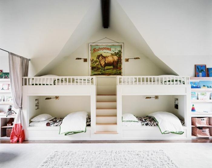 idées-déco-chambre-ado-personnalisé-cool-4-lits