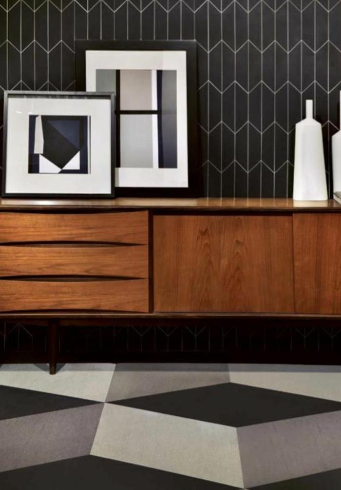 interieur-blanc-et-noir-pour-le-couloir-moderne-papier-peint-noir-et-blanc-pour-une-moderne-maison