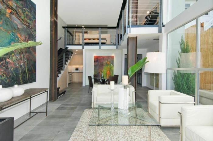 interieur-esprit-loft-dans-le-salon-avec-table-basse-ikea-table-conforama-table-basse