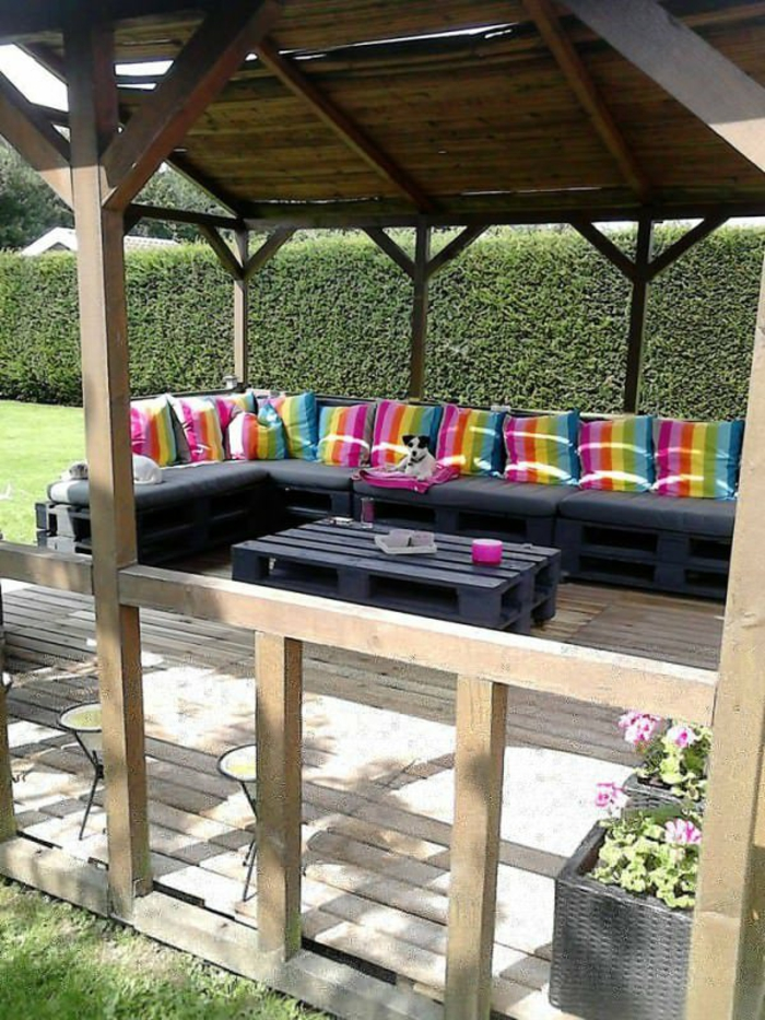 jardin-table-basse-en-palette-belle-idée-diy-beau