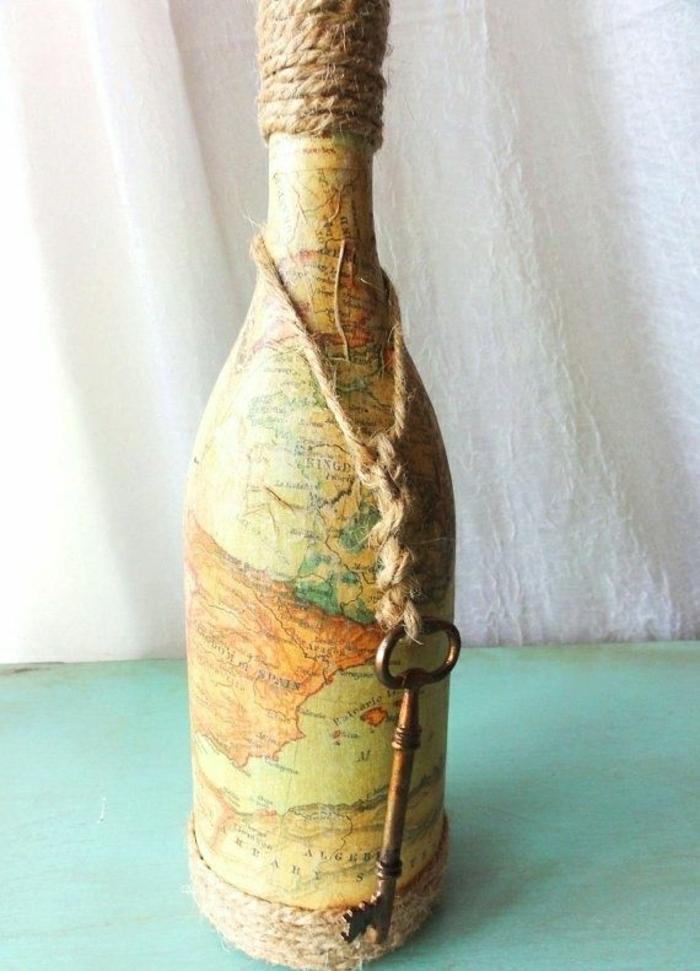 joli-bouteille-de-vin-personnalisée-etiquette-vin-personnalisé-dessin-du-monde-entier