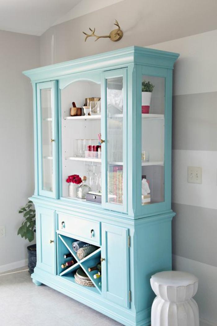 meuble patin bleu meuble gris bleu photo de avant patine. Black Bedroom Furniture Sets. Home Design Ideas